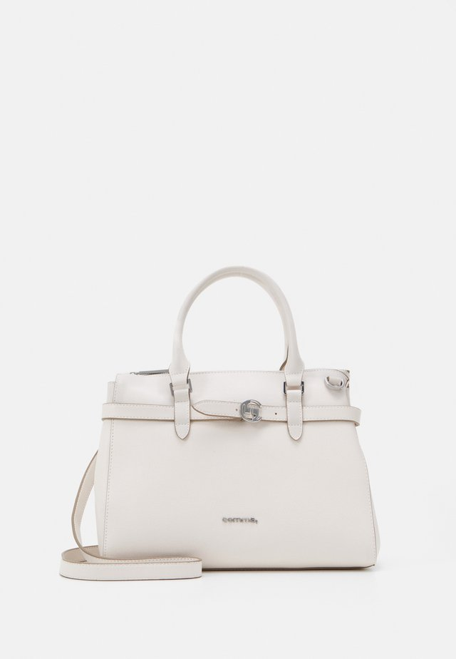 TURN AROUND HANDBAG - Sac à main - offwhite