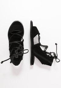 Liu Jo Jeans - THEA  - Sandalias tobilleras - black - 3