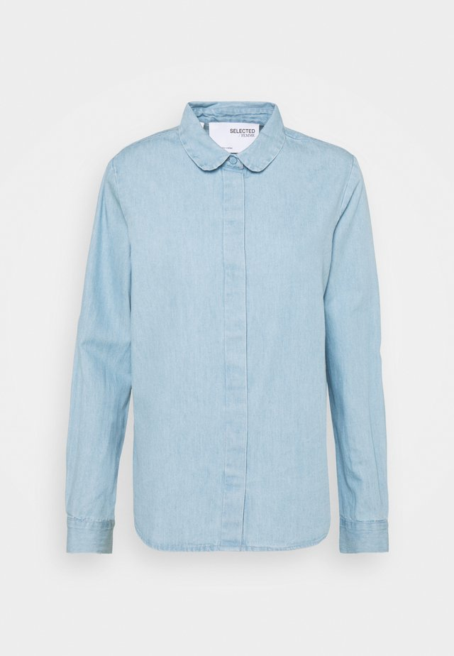 SLFGILLI  - Button-down blouse - light blue