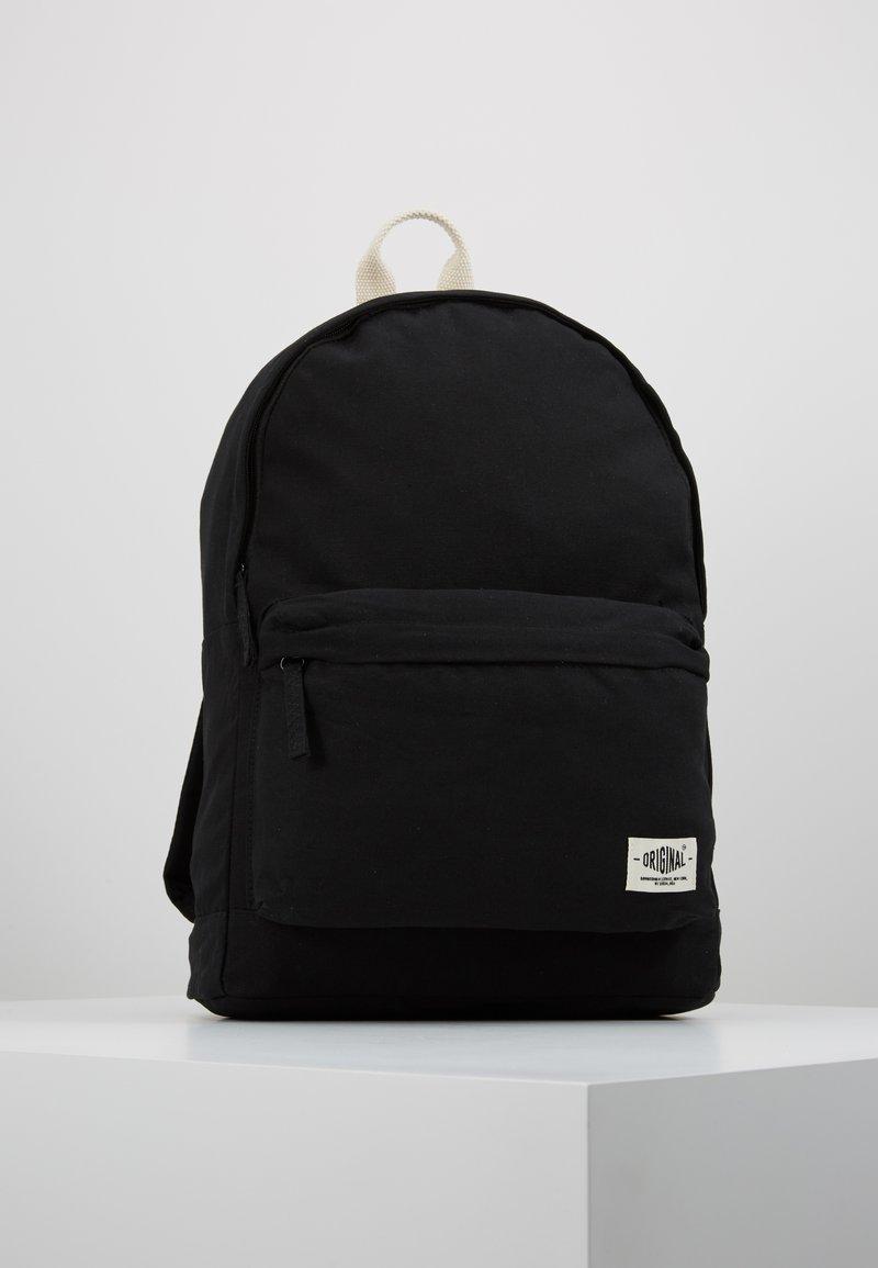 New Look - CASUAL BACKPACK - Rucksack - black