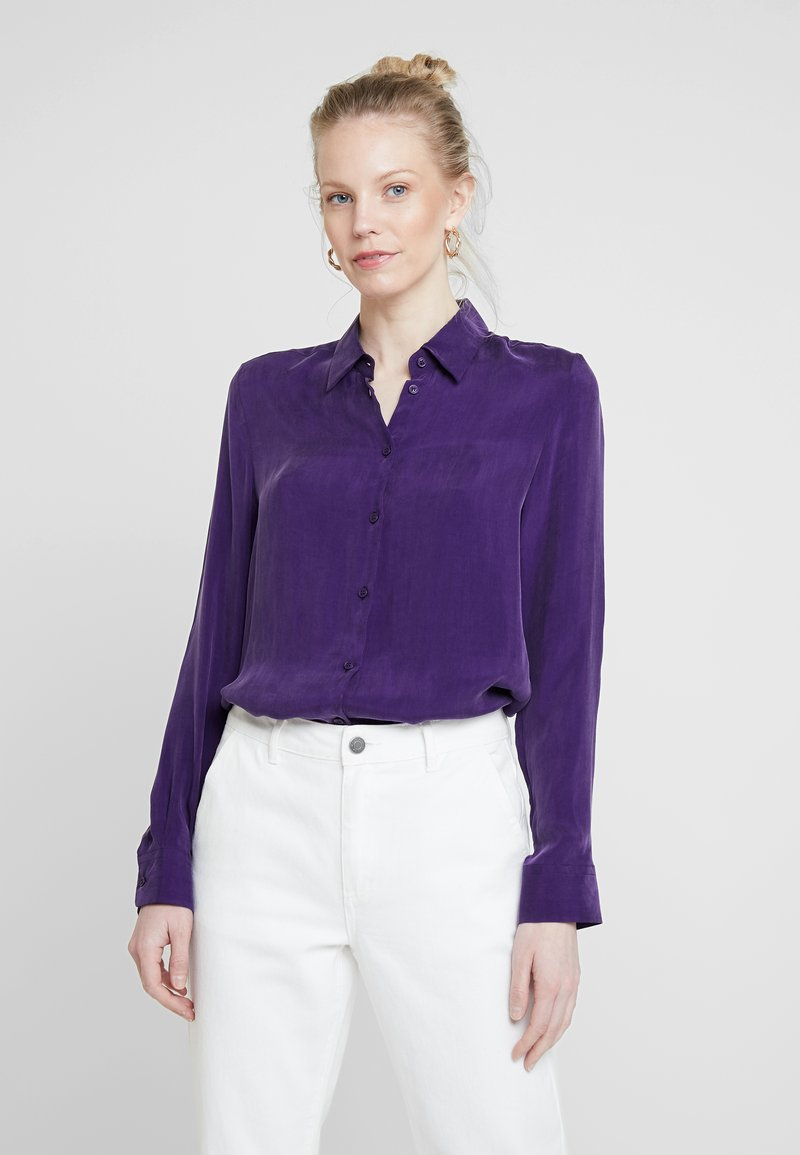 Seidensticker - FASHION - Button-down blouse - parachute purple