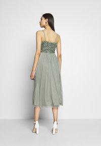 Lace & Beads Tall - IRINA MIDI TALL - Koktejlové šaty/ šaty na párty - mint - 2