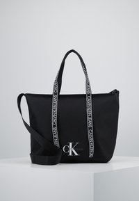Calvin Klein Jeans - SHOPPER - Tote bag - black - 0