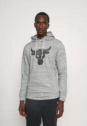 PROJECT ROCK - Hoodie - mottled grey