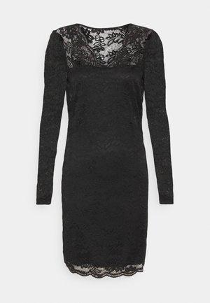 VIELLISA V NECK DRESS - Shift dress - black