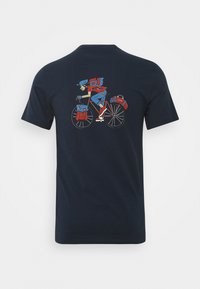 Barbour Beacon - PARKYART TEE - T-shirt con stampa - navy - 1