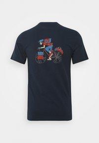 Barbour Beacon - PARKYART TEE - T-shirt med print - navy - 1