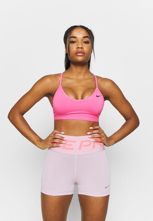 INDY BRA - Sports bra - pink glow/black