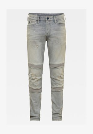 MOTAC 3D SLIM - Slim fit jeans - vintage oreon grey destroyed