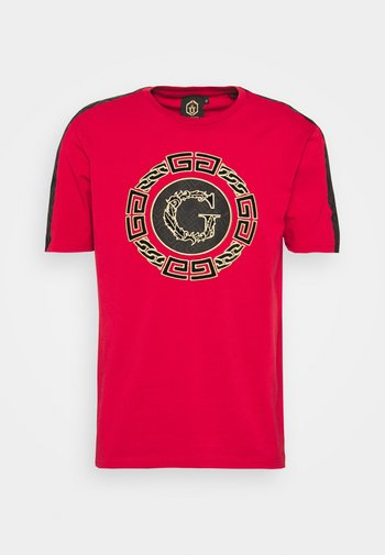ORTIZ TEE - T-shirt con stampa - red
