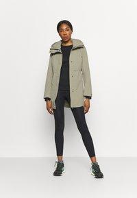 Didriksons - EDITH - Waterproof jacket - mistel green - 1