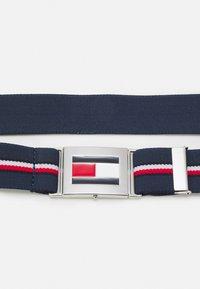 Tommy Hilfiger - EASY CLIP BELT UNISEX - Belt - twilight navy - 2