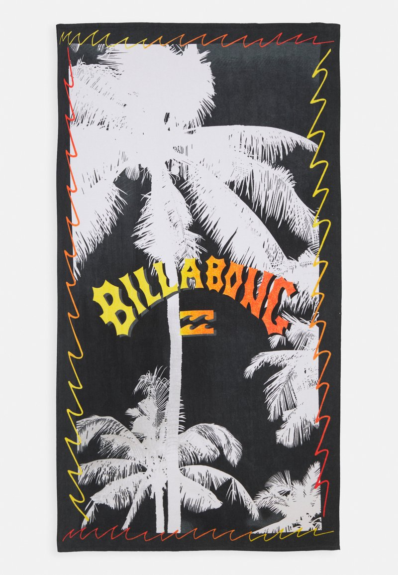 Billabong - CRASH TOWEL - Telo mare - black