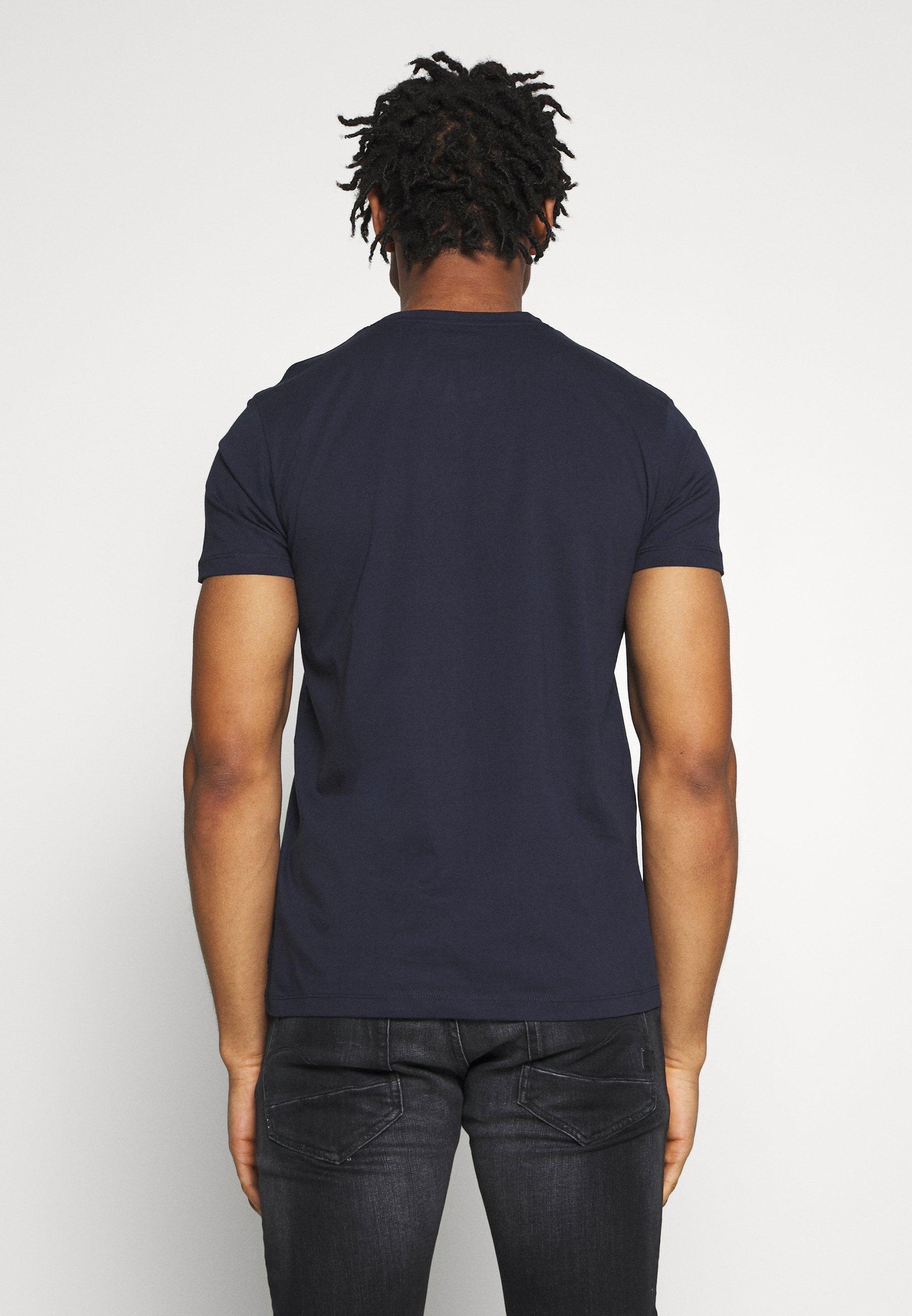 Esprit Print T-shirt - navy pajFz