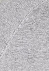 Pier One - SET - Sweat à capuche - light grey melange/black - 6