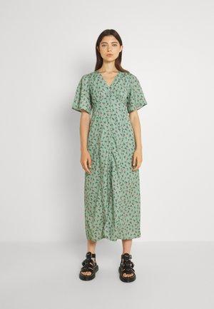 Sukienka koszulowa - mint