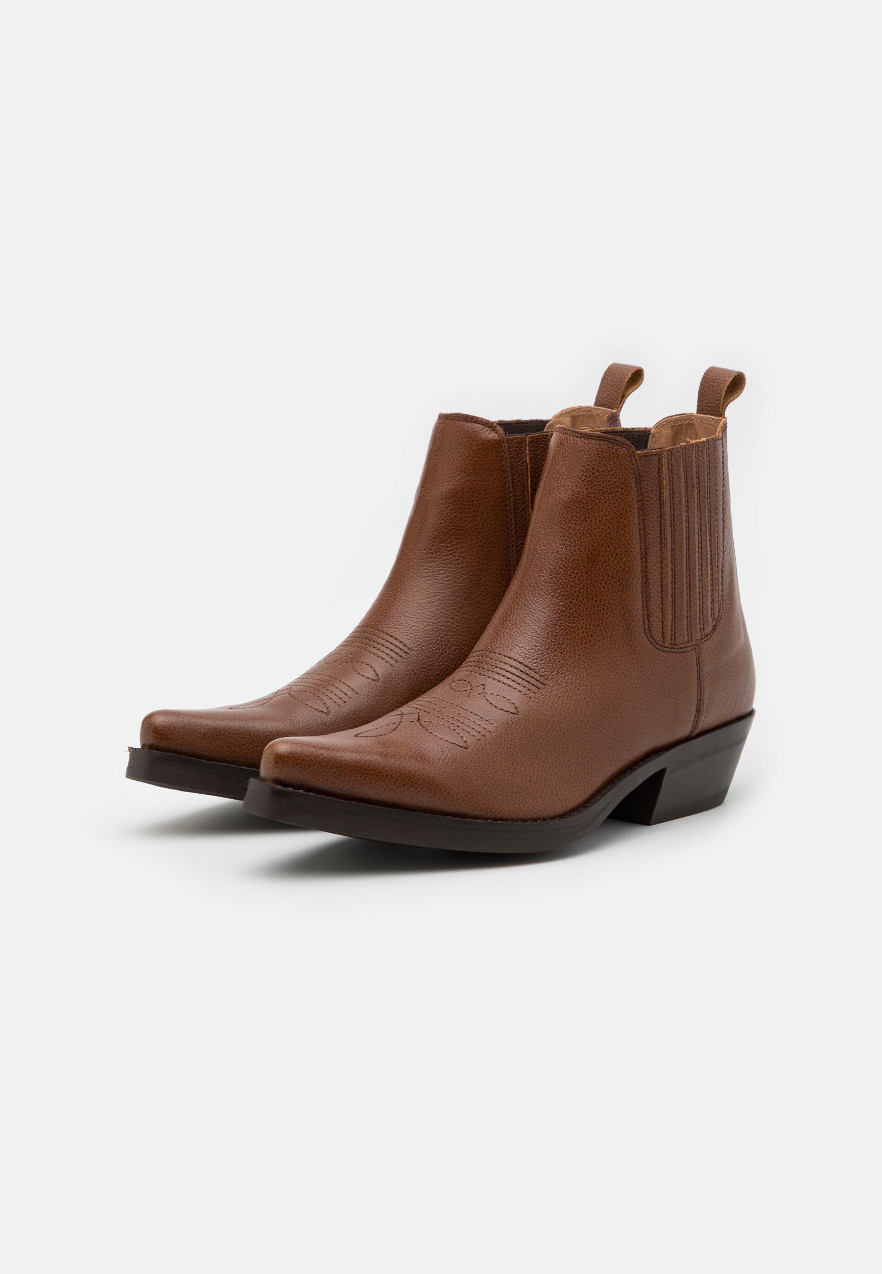 Men Cowboy/biker ankle boot