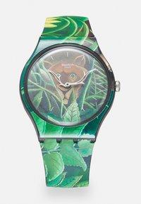 Swatch - THE DREAM BY HENRI ROUSSEAU THE WATCH UNISEX - Klocka - green - 0