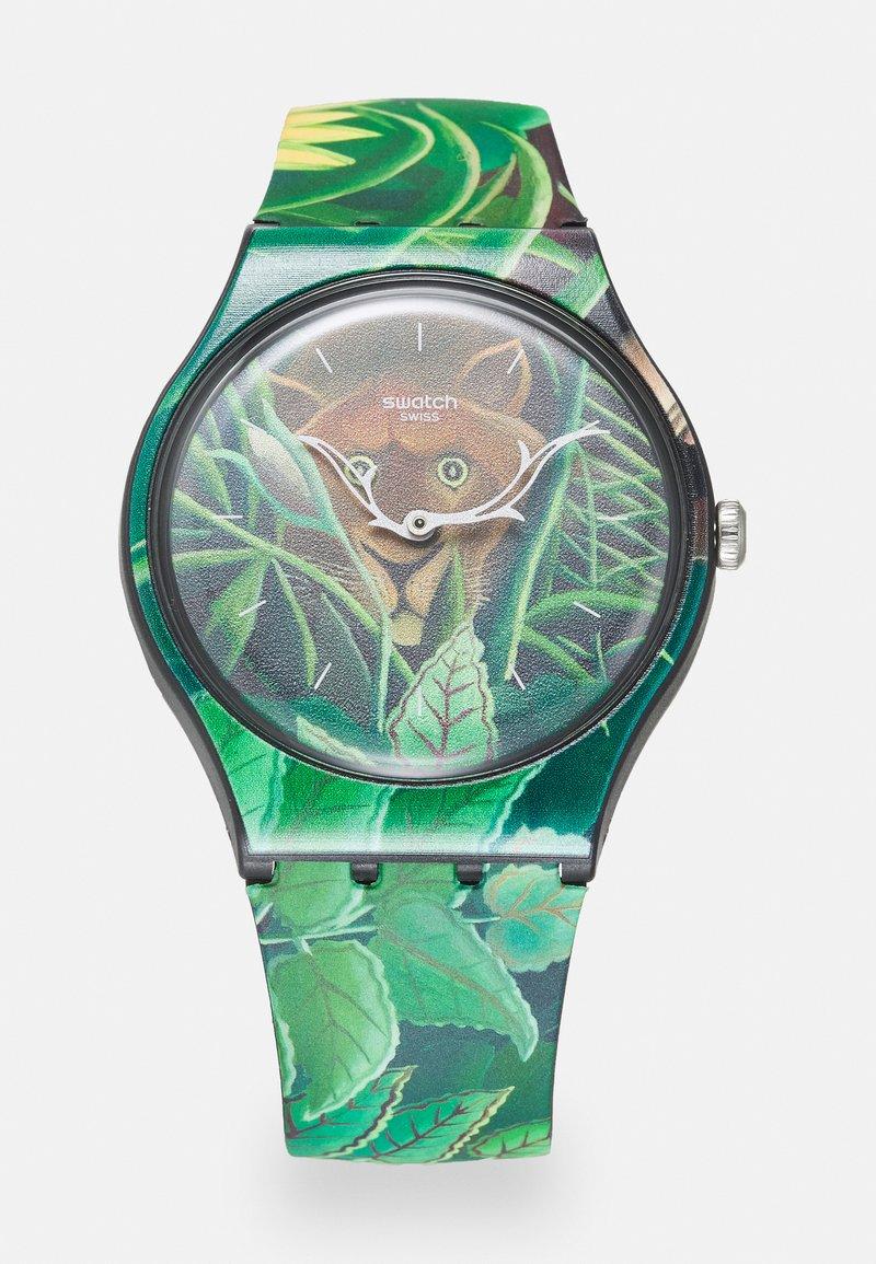 Swatch - THE DREAM BY HENRI ROUSSEAU THE WATCH UNISEX - Klocka - green