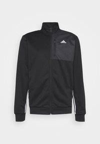 adidas Performance - Zip-up hoodie - black - 5