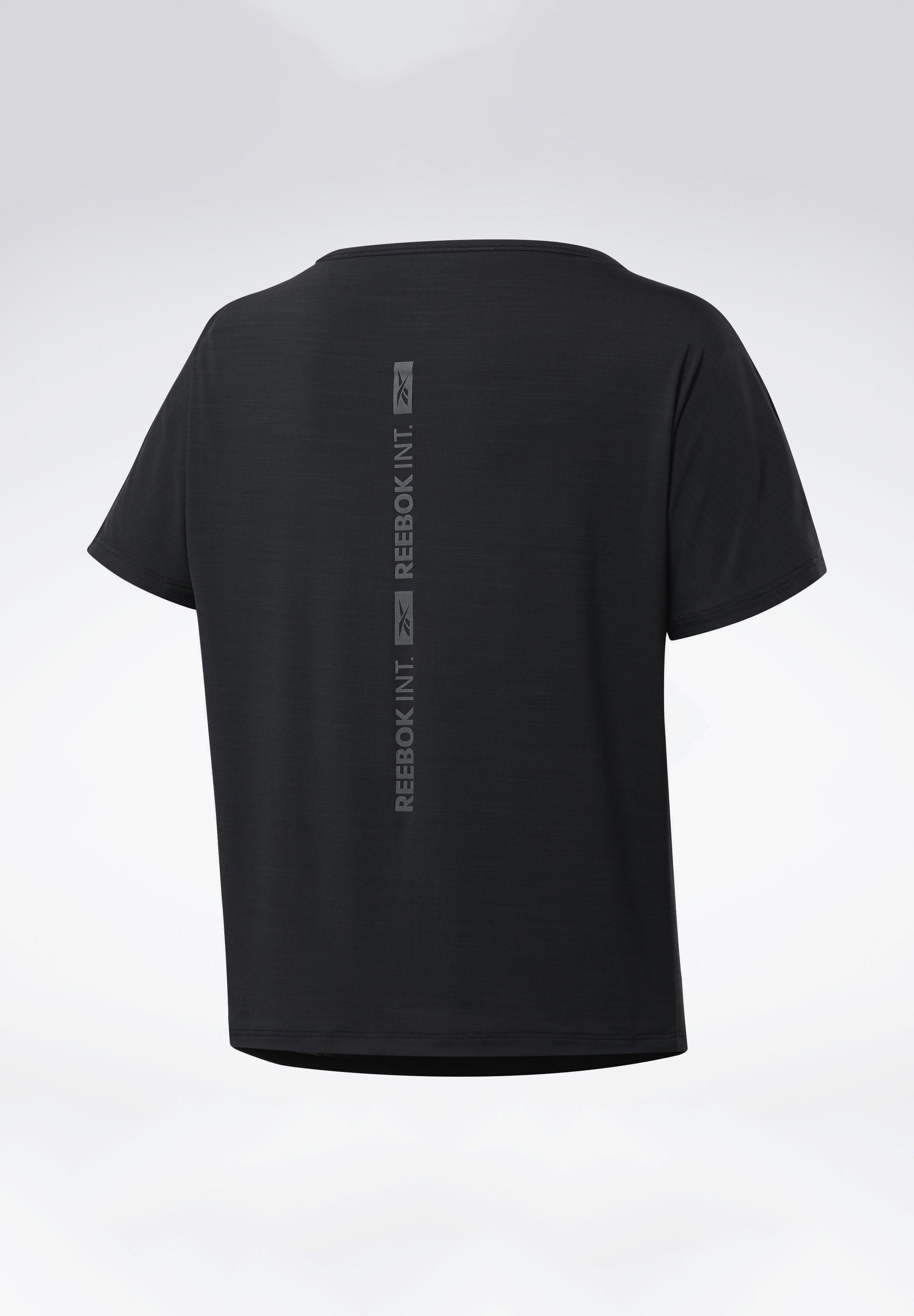 Reebok ACTIVCHILL BOXY T-SHIRT - Sports shirt - black JULWX