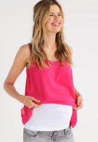 Zalando Essentials Maternity - 2 PACK - Tailleriem - white/black - 1
