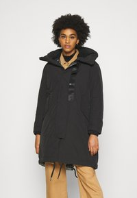 G-Star - HOODED PADDED FISHTAIL  - Parka - black - 0