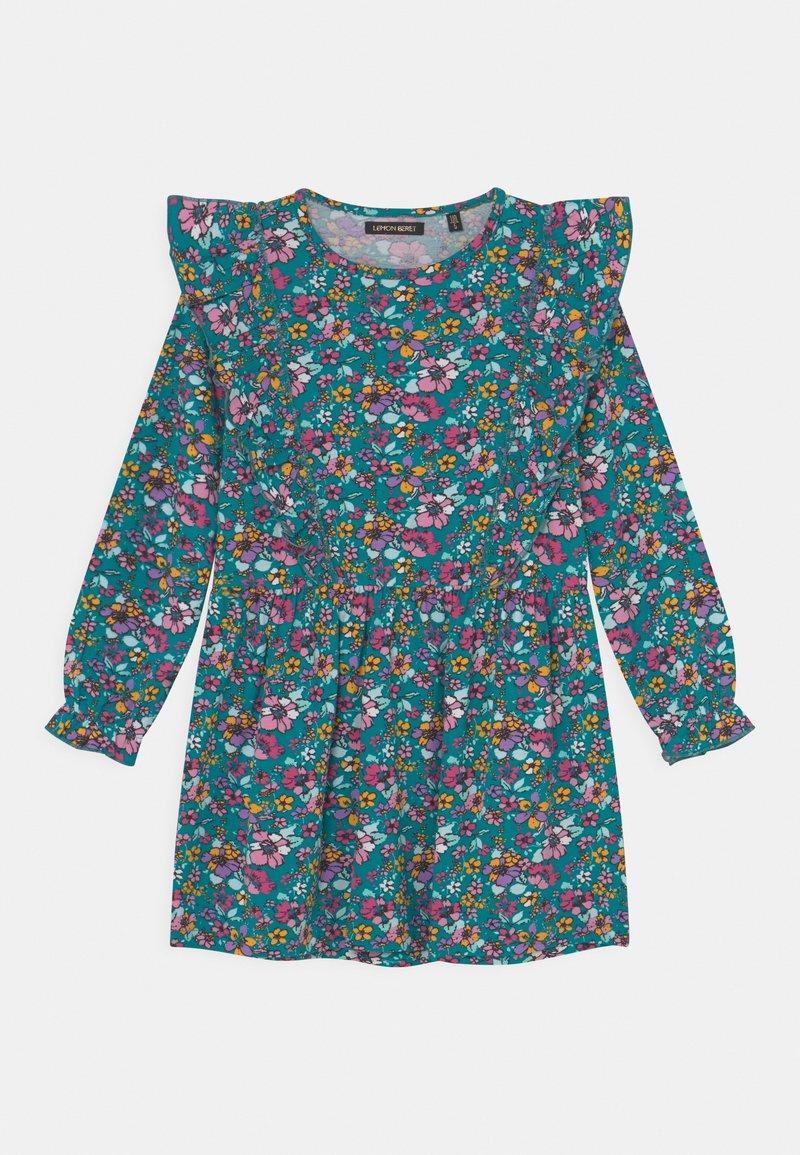 Lemon Beret - SMALL GIRLS DRESS - Jersey dress - fanfare