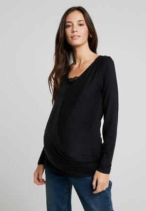 MLSHANA TESS - Camiseta de manga larga - black