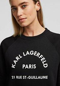 KARL LAGERFELD - Denní šaty - black - 4