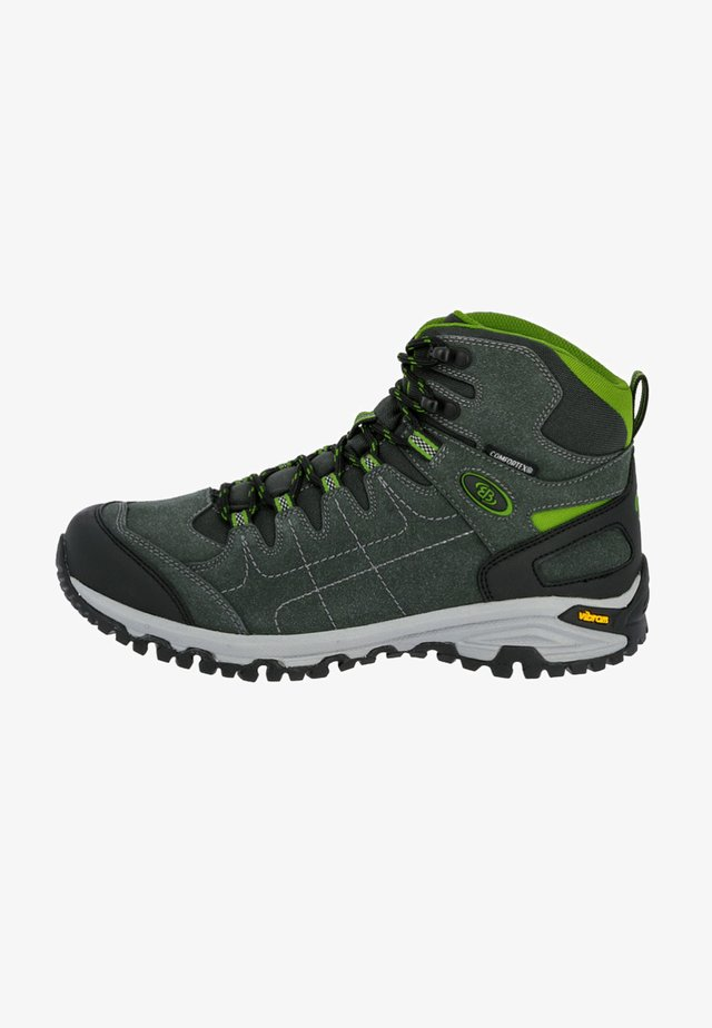 MOUNT SHASTA  - Hiking shoes - grey/green