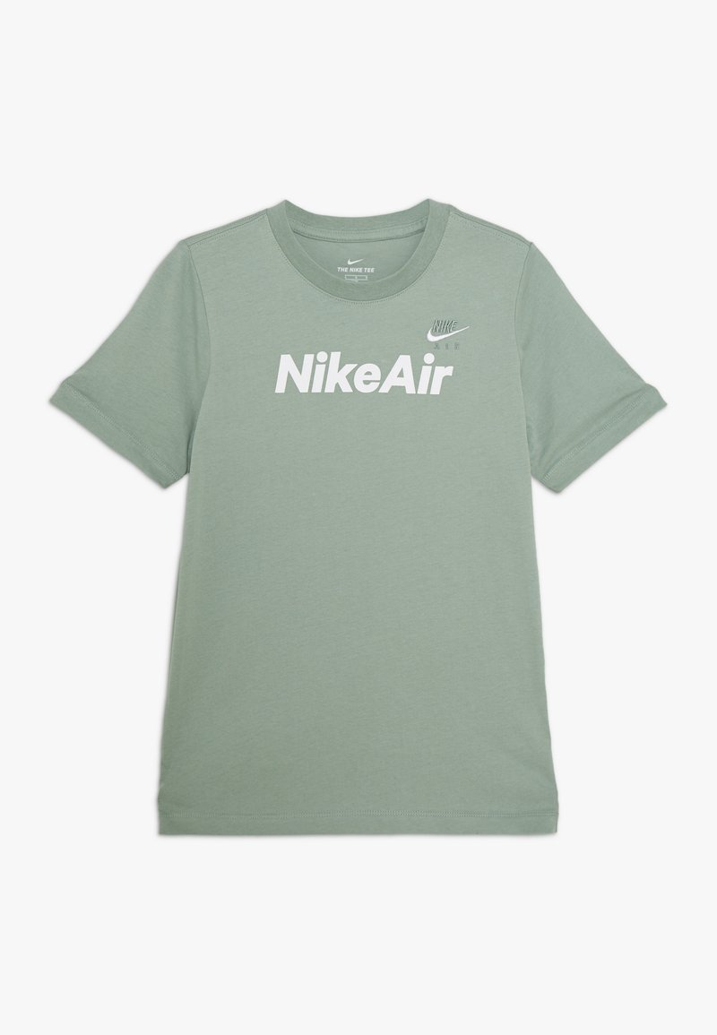 Nike Sportswear - Triko spotiskem - silver pine