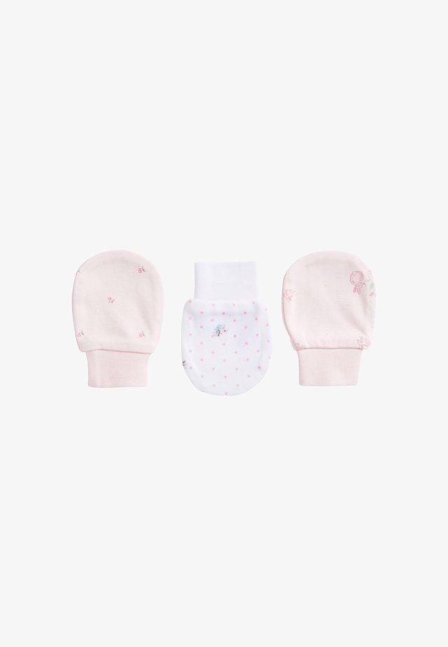 3 PACK - Muffole - pink