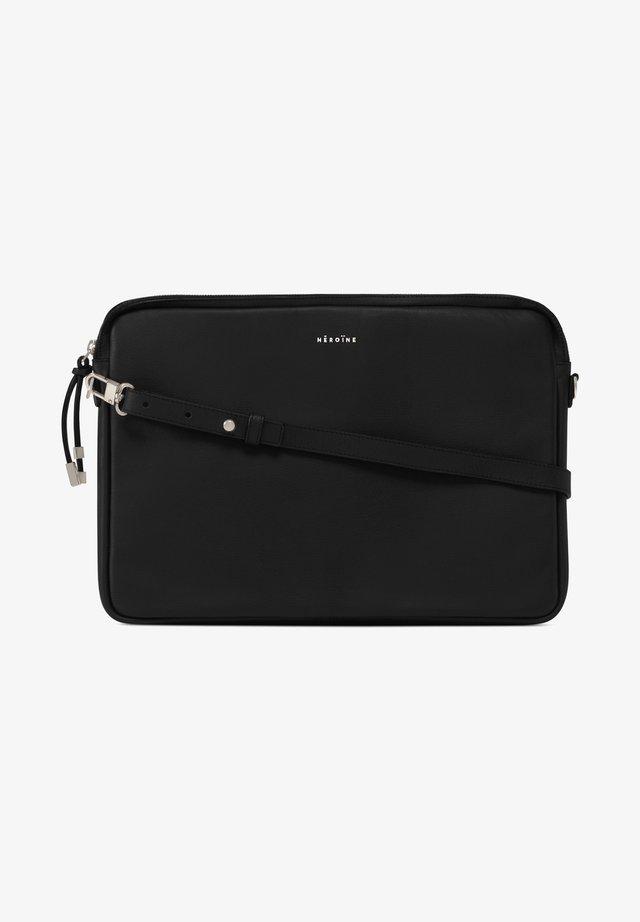 Laptop bag - black lavagna silver