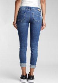 Gang - COMFORT RETRO - Jeans Skinny Fit - blue stone vintage - 1