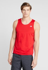 New Balance - ACCELERATE SINGLET - Sports shirt - teamred - 2
