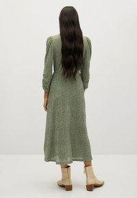 Mango - Day dress - groen - 1