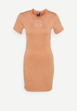 Vestido de tubo - terra blush/orange pearl