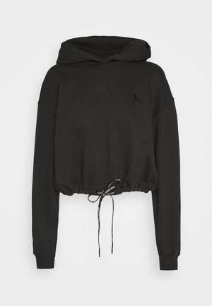 BRANDED DRAW CORDS  - Hoodie - black beauty