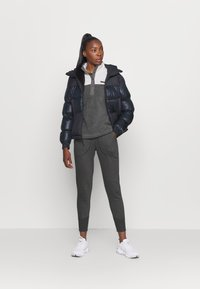 Columbia - BENTON SNAP - Fleece jumper - city grey heather/chalk - 1