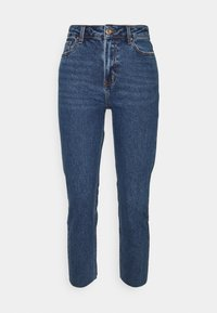ONLY Petite - ONLEMILY RAW - Straight leg jeans - dark blue denim - 0