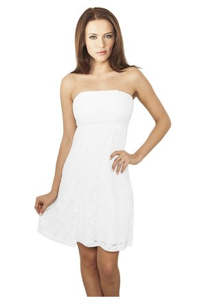 DRESS - Cocktailklänning - white
