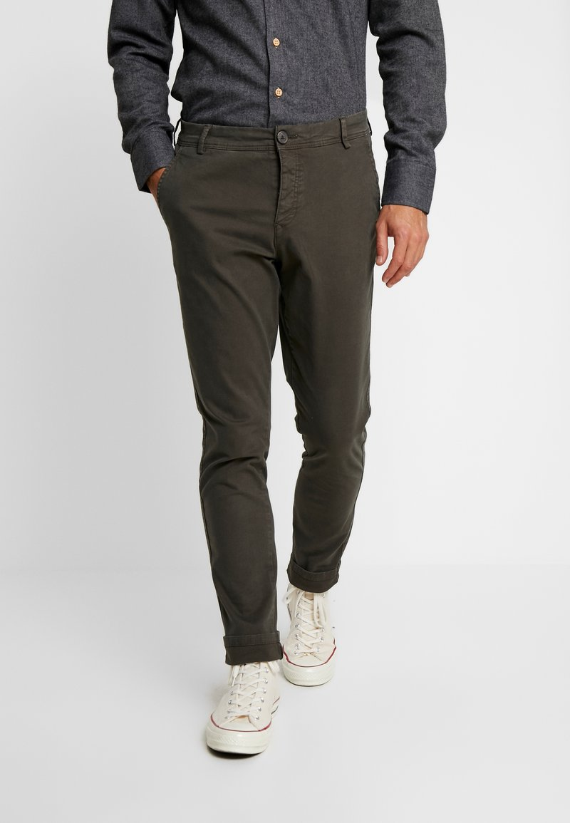 Selected Homme - SHHONE LUCA PHANTOM PANTS - Chinos - phantom