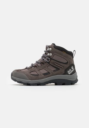 VOJO 3 TEXAPORE MID - Hiking shoes - tarmac grey/pink