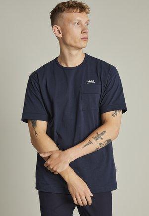 MAHARRISON - T-shirt basic - dark navy