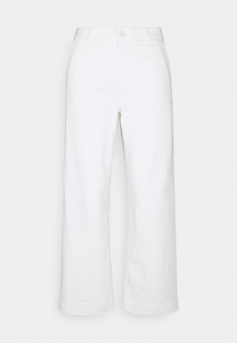 someday. - CHENILA PURE - Straight leg jeans - white