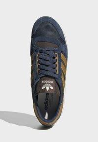 adidas Originals - ZX 500 UNISEX - Tenisky - crew navy mesa brown - 3