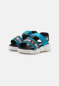 MOSCHINO - UNISEX - Sandals - blue/black - 1