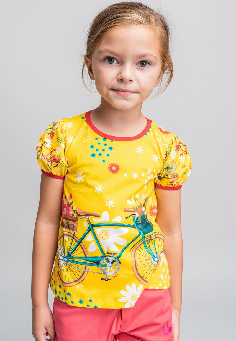 Rosalita Senoritas - Print T-shirt - yellow