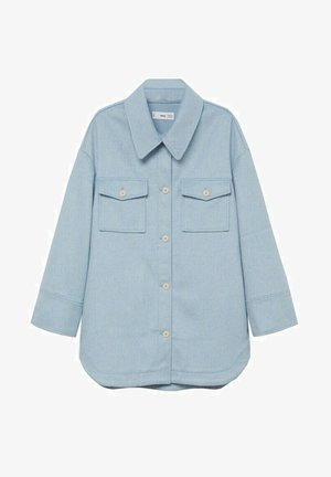 CAKE - Button-down blouse - sky blue